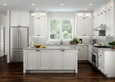 Page 1 Cabinetry CNC Picture Concord Elegant Kitchen White 400x284 - Gallery